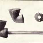 Pipes made by Ahojeobe; small silver ornament