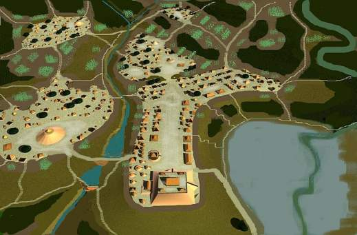 Ocmulgee in 1100 AD