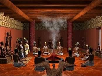 Ocmulgee Temple Interior