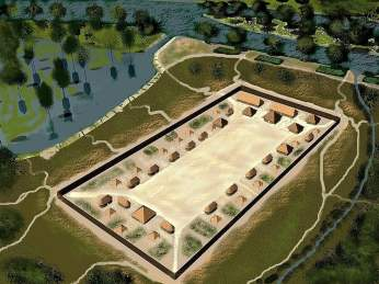 Ocmulgee in 900 AD ariel view 2