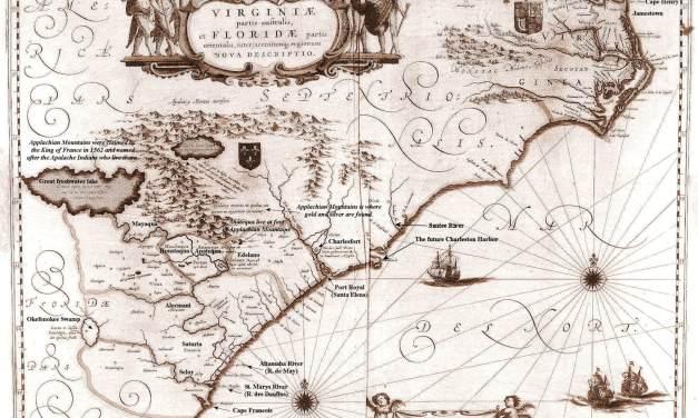 1640 Virginiae et Floridae Map