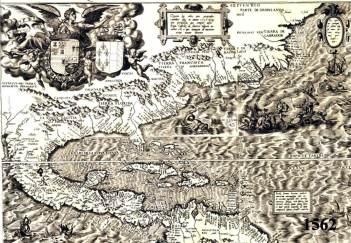 1562 Map of North America