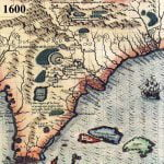 1600 Map of LaFlorida in Detail