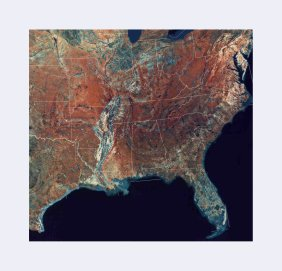 Southeast Topographic Map