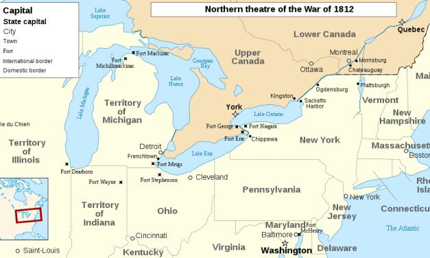 Northwest Territorial War of 1812 – Indian Wars