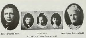 Family of James Duncan Mudd