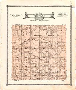 1921 Farm Map of Douglas Township, Audubon County, Iowa