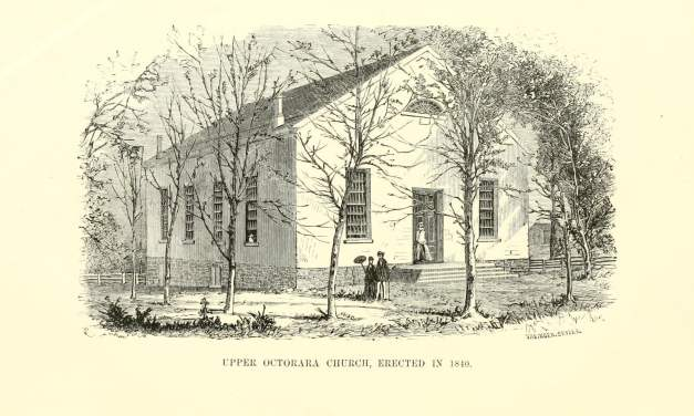 Upper Otorara Presbyterian Church Records, Chester County PA