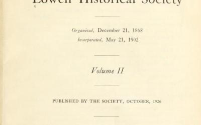 Contributions of the Lowell Massachusetts Historical Society