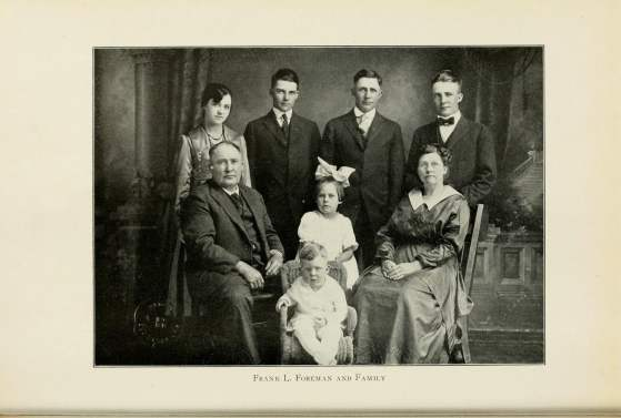 Frank L. Foreman and Family