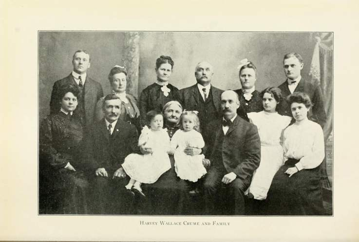 Harvey Wallace Crume and Family