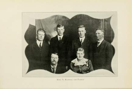 Will N. Randall and Family