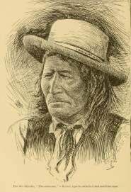 The Same-One, a Kiowa Apache subchief