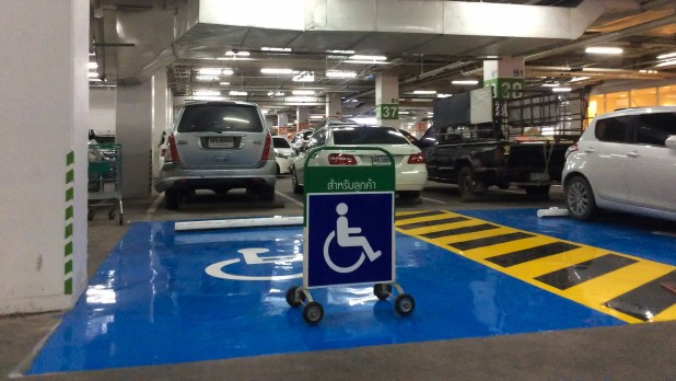 Disabled Car Parking Seacon-3422