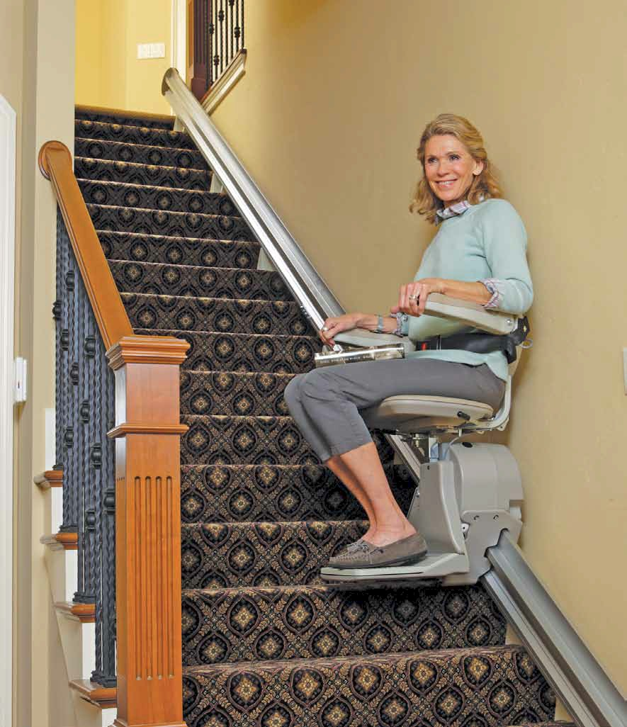folding chair wall rack kitchen stuff plus dining chairs las vegas stair lifts | accessibility services inc