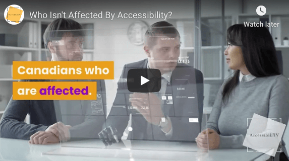 Who Isn't Affected by the Accessibility Act?