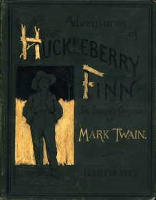 "Mark Twain's ""Adventures of Huckleberry Finn"" was published on February 18, 1885."