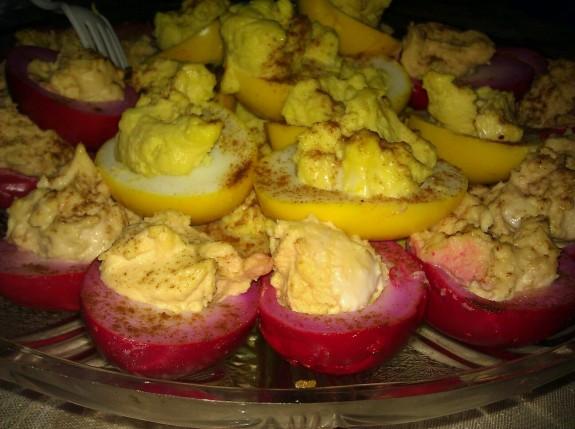RedBeet-Develied-Eggs