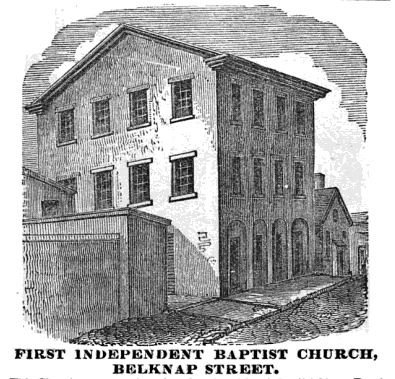 First Independence Baptist Church in 1851