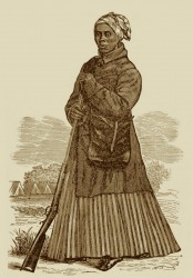 The spirited wood-cut likeness of Harriet, in her costume as scout, was furnished by the kindness of Mr. J. C. Darby