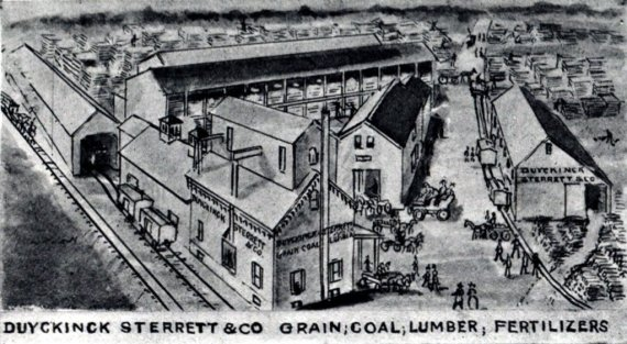 Duyckinck Sterrett & Co, Grain, Coal, Lumber, Fertilizers