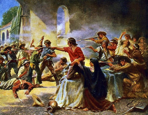 Battle of the Alamo / Percy Moran