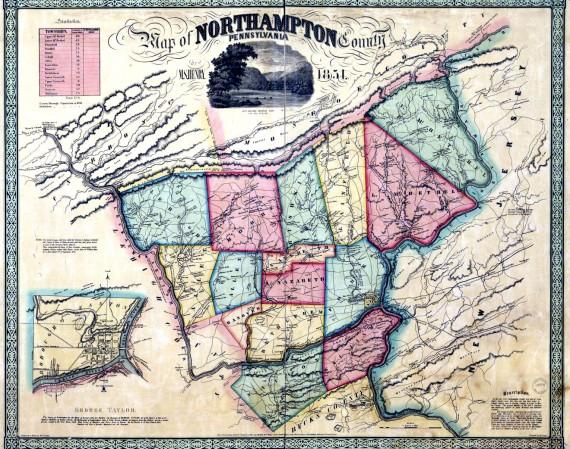 Northampton County 1851