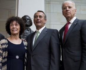 Nettie Washington Douglass, John Boehner, Joe Biden
