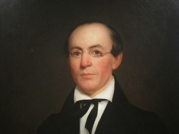 William Lloyd Garrison at National Portrait Gallery