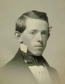 Horatio Alger, Jr. in 1852