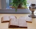 """Bibles, including the top two in German, in """"Amish Country,"""" Lancaster County, PA"""