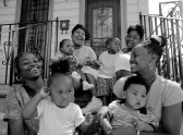 Family gathering in New Orleans, Louisiana