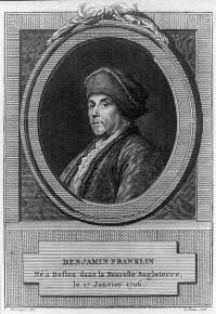 Benjamin Franklin - né à Boston dans la Nouvelle Angleterre, le 17 Janvier 1706