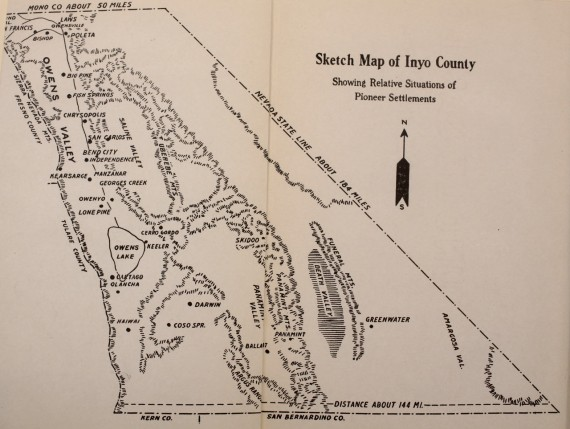 Story of Inyo - Settlement Map