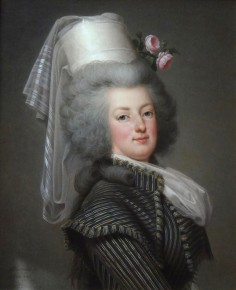 Marie Antoinette in hunting attire, 1788