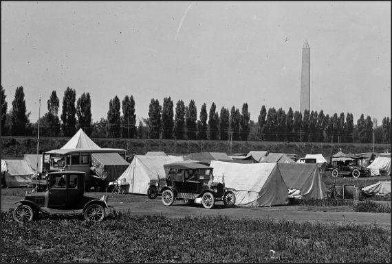 Auto Tourists Camp, August 20, 1923