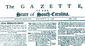 South Carolina Newspapers – Accessible Archives Inc