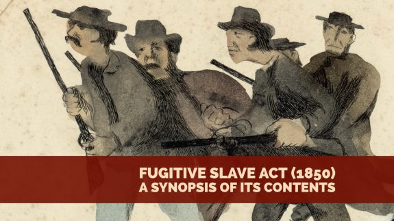 Fugative Slave Act 1850