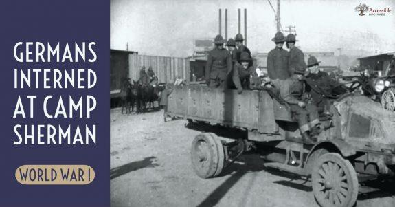 Germans Interned at Camp Sherman