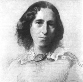 Portrait of George Eliot by Samuel Laurence, c. 1860