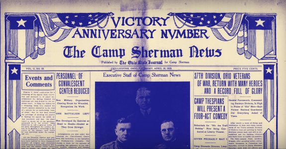 Camp Sherman News - April 10, 1919
