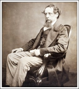 Charles Dicken in the 1860s