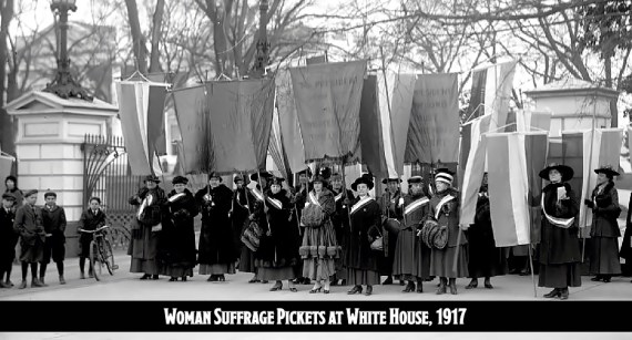 Picketing at the White House