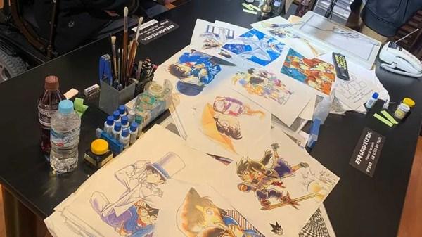 """Résultat de recherche d'images pour """"Gosho Aoyama Manga Factory"""""""