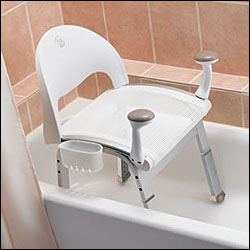 handicap shower chair pottery barn office ergonomic