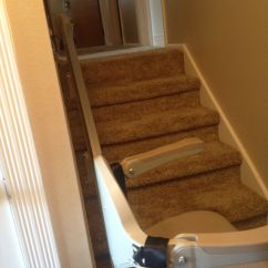 Bruno Chair Lifts Wrought Iron Lounge Lift To Basement With Room For Door At Top In