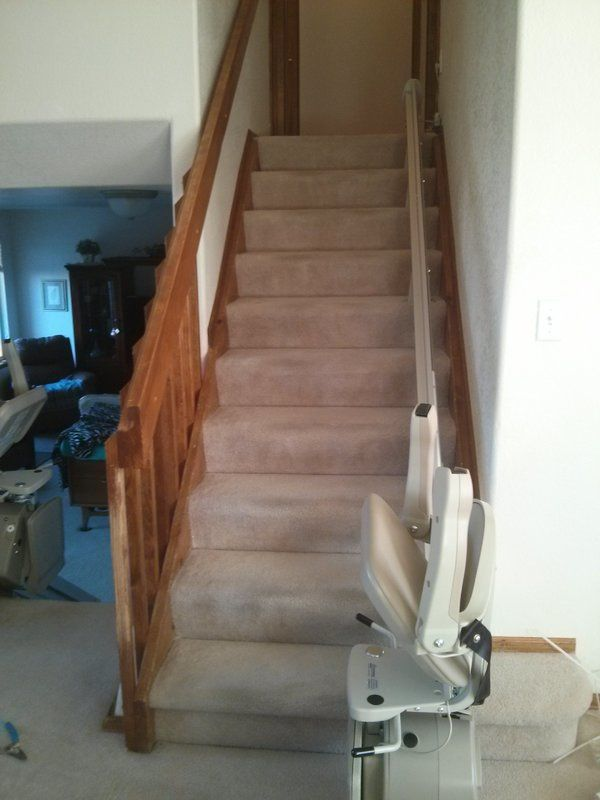 Straight Stair Lift in Aurora CO  Accessible Systems