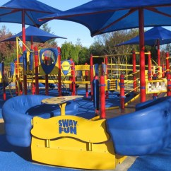 Chair Swing Stand Best Gaming Reddit San Ramon Cuts Ribbon On Universally Accessible Playground | Playgrounds
