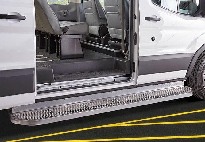 Commercial Wheelchair Vans  Accessible Vans of America