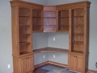 Corner Desk With Bookcase | Home Design Ideas